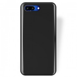 Cover per Huawei Honor 10 in silicone Ultra slim TPU nero lucida